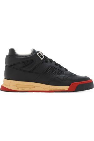 """Maison Margiela 35mm Hohe Sneakers Aus Leder """"deadstock"""""""