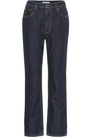 Prada Mid-Rise Straight Jeans