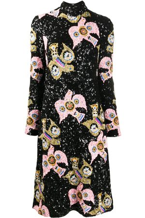 La DoubleJ Kleid mit Pailletten