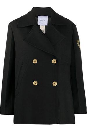Patou Doppelreihiger Mantel