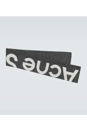 Acne Studios Schal Toronty aus Wolle mit Logo