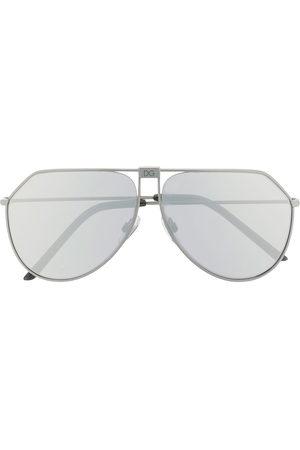 Dolce & Gabbana Herren Sonnenbrillen - DG2248' Pilotenbrille - Metallisch