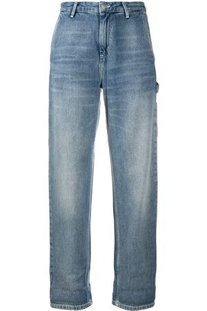 Carhartt High-rise straight-leg trousers