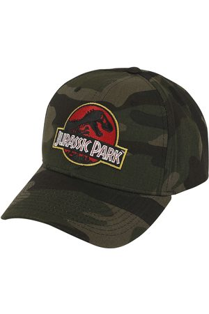 Jurassic Park Herren Caps - Camo Logo Baseball-Cap multicolor