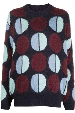 La DoubleJ Pullover mit geometrischem Print