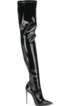 LE SILLA Eva thigh-length leather boots
