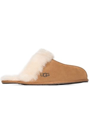 UGG Brown Scuffette II suede slippers - Nude