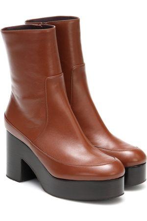 DRIES VAN NOTEN Ankle Boots aus Leder
