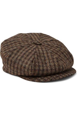 KINGSMAN Herren Hüte - Lock & Co Hatters Checked Wool-Tweed Flat Cap