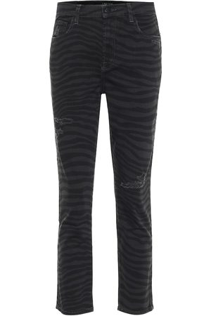 J Brand High-Rise Slim Jeans Ruby