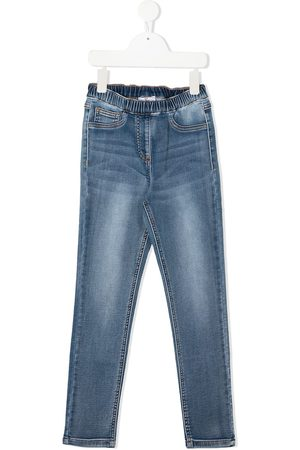 MONNALISA Distressed effect jeans
