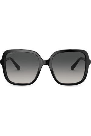 Bvlgari Eckige Oversized-Sonnenbrille