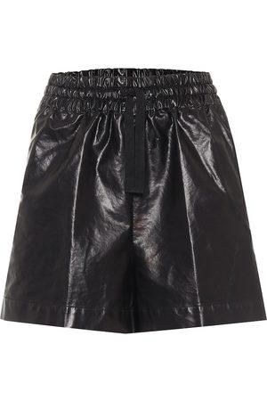 DRIES VAN NOTEN High-Rise Shorts mit Baumwollanteil