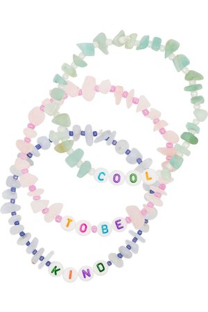 TBalance Cool To Be Kind gemstone bracelet set - Mehrfarbig