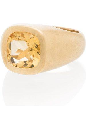 Shola Branson Ring mit Zitrin