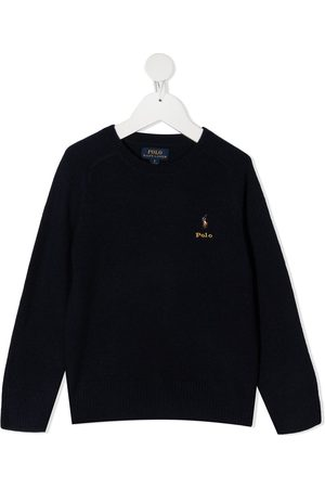 Ralph Lauren Merino-cashmere logo jumper