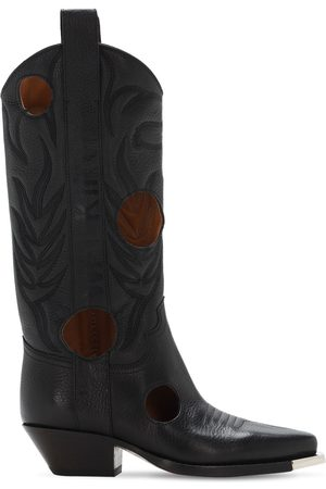 OFF-WHITE Damen Stiefel - 45mm Meteor Leather Boots
