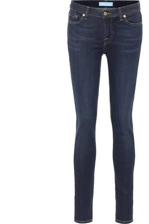 7 for all Mankind Mid-Rise Jeans The Skinny