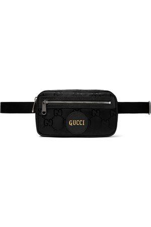 Gucci Herren Gürtel - Off the Grid Leather-Trimmed Monogrammed ECONYL Canvas Belt Bag