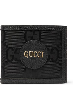 Gucci Herren Geldbörsen & Etuis - Off the Grid Leather-Trimmed Monogrammed ECONYL Canvas Billfold Wallet