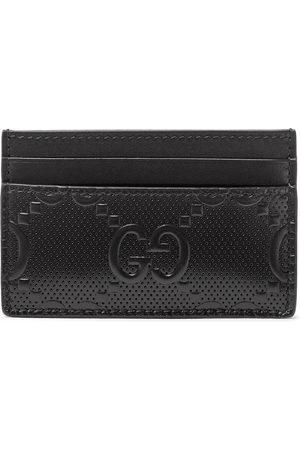 Gucci Herren Geldbörsen & Etuis - GG Tennis Logo-Embossed Leather Cardholder