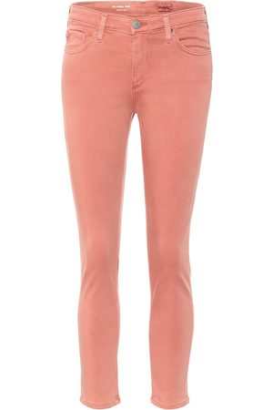 AG Jeans Mid-Rise Skinny Jeans The Prima