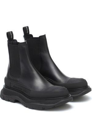 Alexander McQueen Chelsea Boots Tread aus Leder