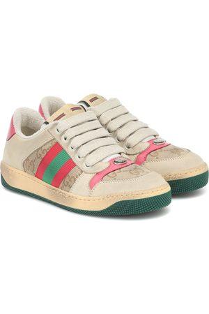 Gucci Sneakers Screener mit Leder