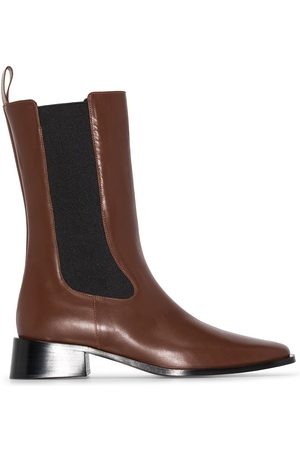 Neous Brown 35 mm Leather Chelsea Boots