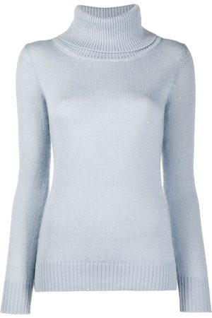 GENTRYPORTOFINO Roll neck knit jumper