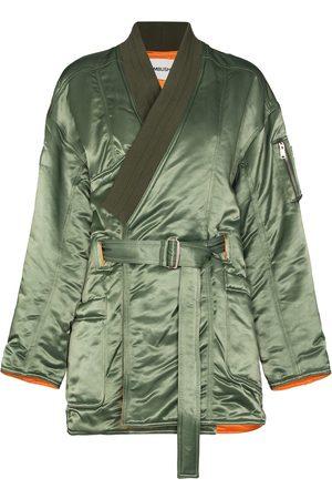 AMBUSH Kimono MA-1 Hybrid belted coat