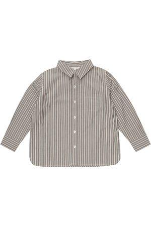Caramel Hemd Stint aus Baumwolle