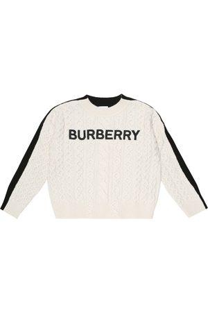 Burberry Bestickter Strickpullover