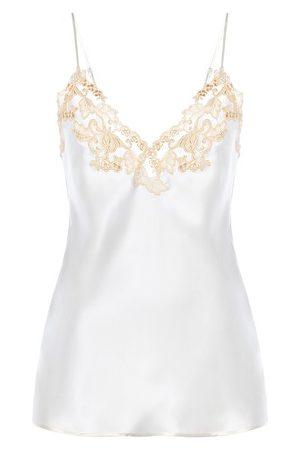La Perla Shirt aus Seide mit Frastaglio