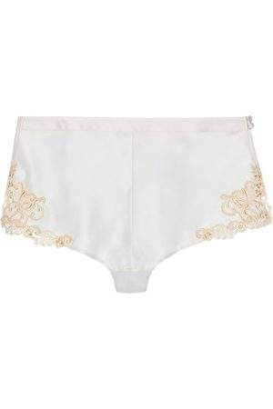 La Perla Damen Schlafanzüge - Seide Pyjamashorts mit Frastaglio
