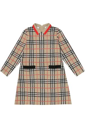 Burberry Kleid Vintage Check aus Wolle