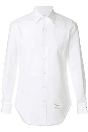 Thom Browne Elegantes Hemd mit spitzem Kragen