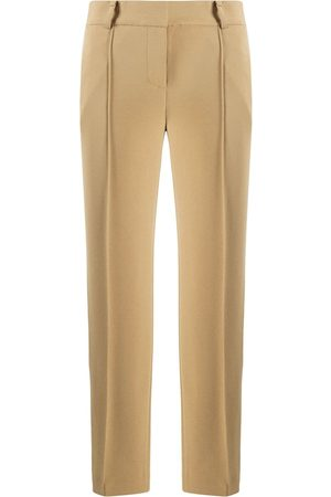 Michael Kors Cropped straight-leg trousers - Nude