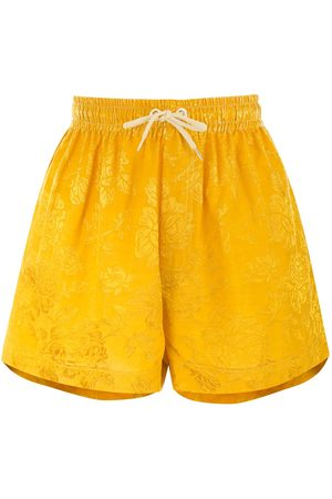 Karen Walker Maple' Shorts - MUSTARD
