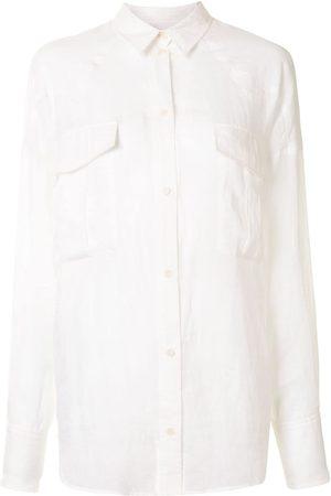 Karen Walker Hemd mit spitzem Kragen