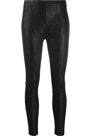 Gentry Portofino Skinny-fit leather trousers