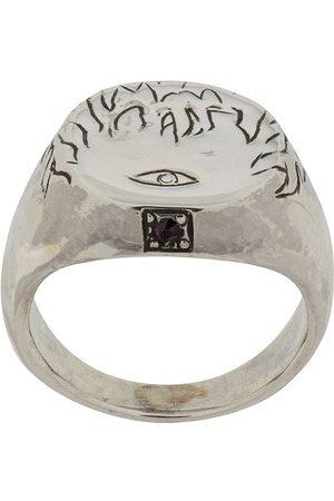 HENSON Flames & Eye' Ring mit Rubin