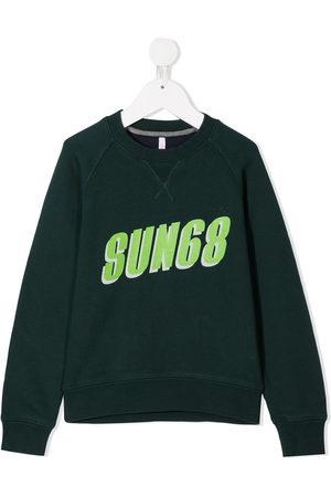 sun68 Sweatshirt mit Slogan-Print