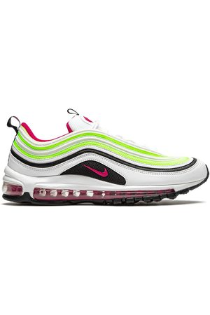 Nike Air Max 97' Sneakers - WHITE/BLACK-VOLT-RUSH PINK