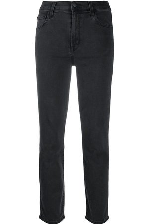 J Brand Halbhohe Cropped-Jeans