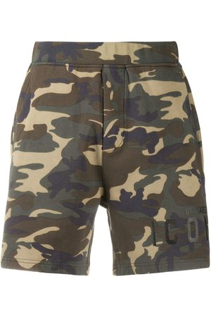 Dsquared2 Camouflage Icon-print shorts