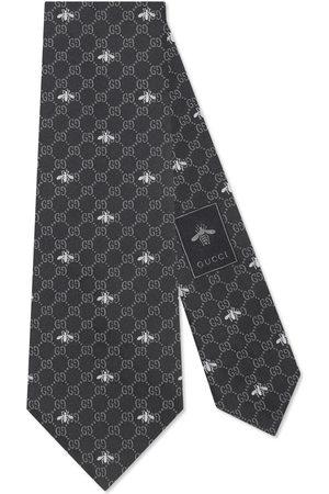 Gucci Krawatte aus GG Seide mit Bienen