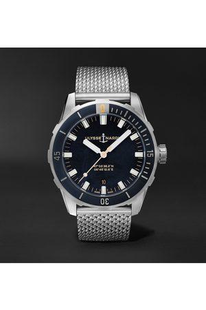 Ulysse Nardin Herren Uhren - Diver Automatic 42mm Stainless Steel Watch, Ref. No. 8163-175-7M/92