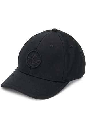 Stone Island Baseballkappe mit aufgesticktem Logo