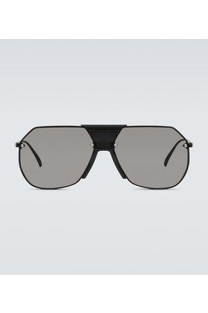 Bottega Veneta Sonnenbrille aus Metall